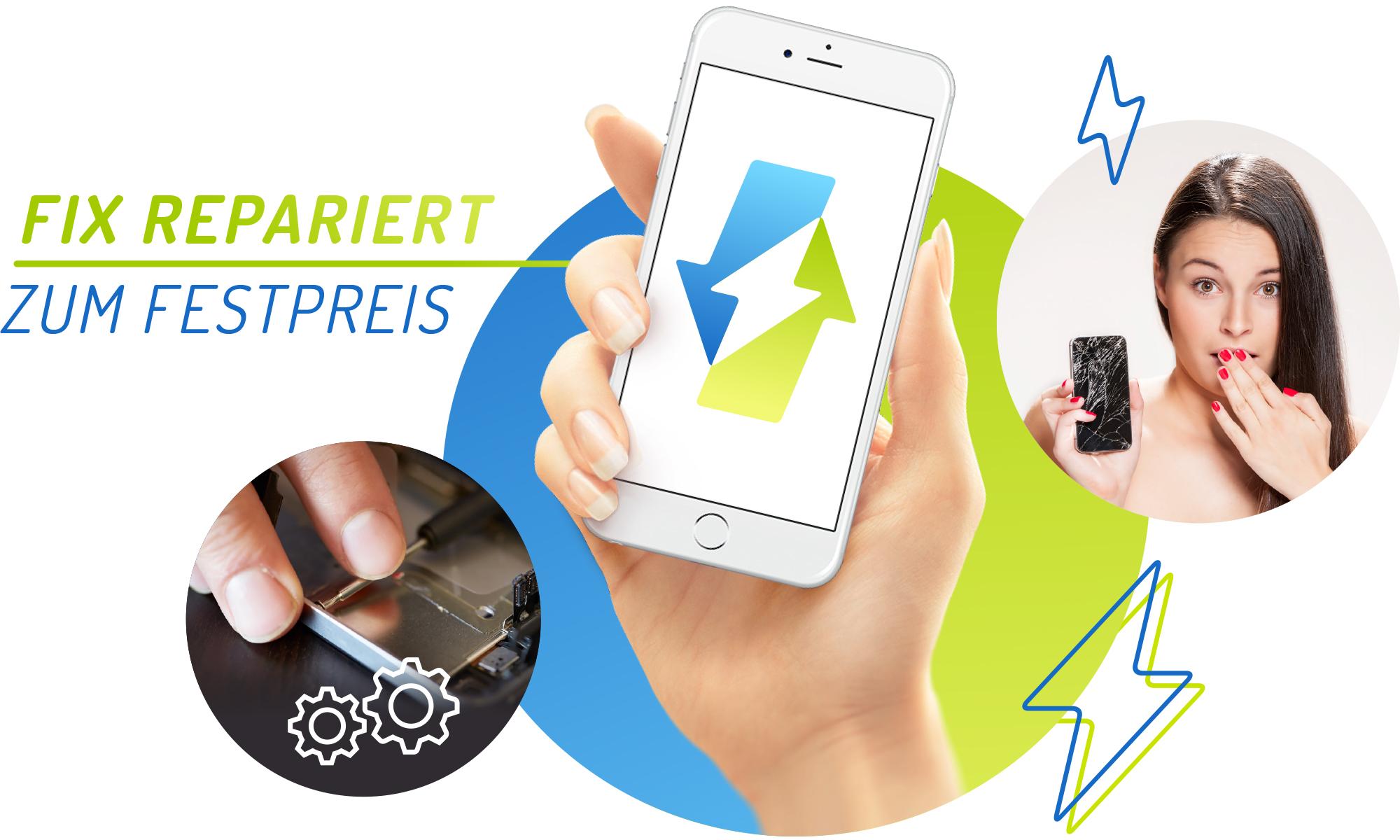 Handy iPhone Smartphone Reparatur Stuttgart -